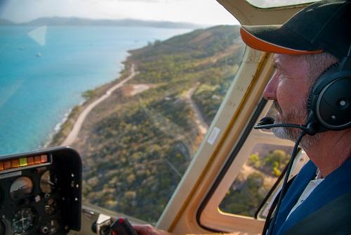 Survol en hélicoptère de la Réunion